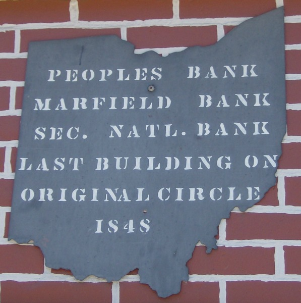 Peoples Bank Marker