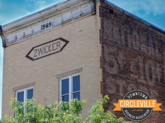 Zwicker Building in downtown Circleville.