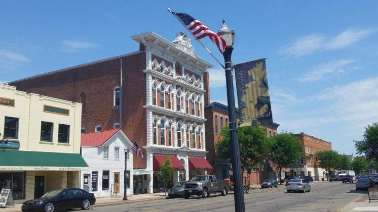 Small American town with heart